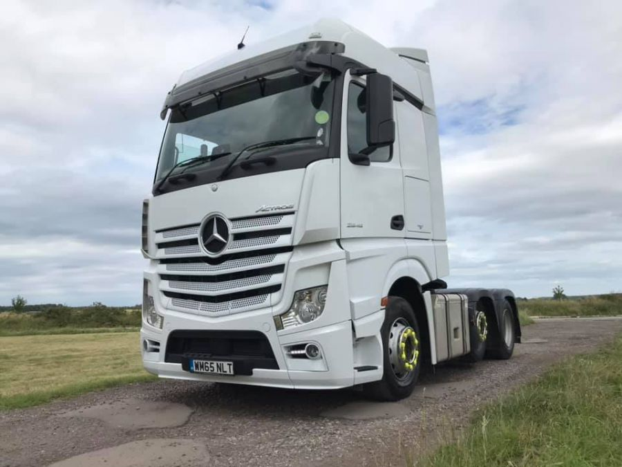 Mercedes Actros Big Space