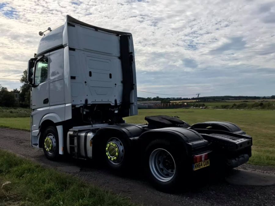 Mercedes Actros Giga Space 2545