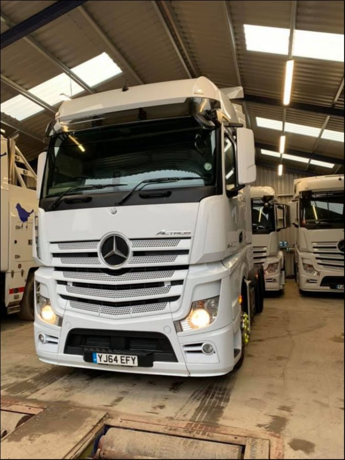 Mercedes Benz Actros Big Space 2545 Euro 6