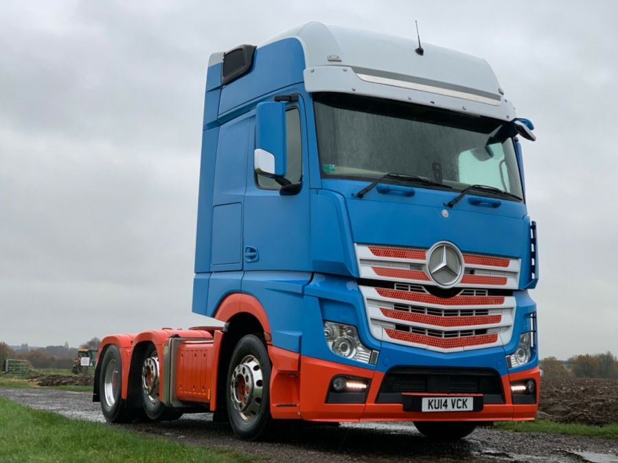 Mercedes Actros 2551 Style